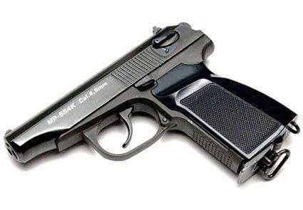 Пневматический пистолет Baikal МР-654 K