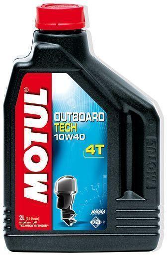 Motul Outboard Tech 4T 10W40 2 литра