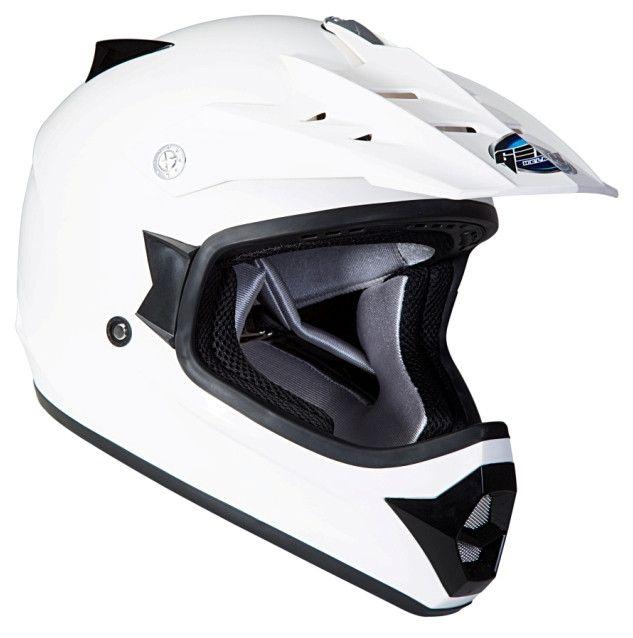 Шлем GEON 623 Кросс белый M
