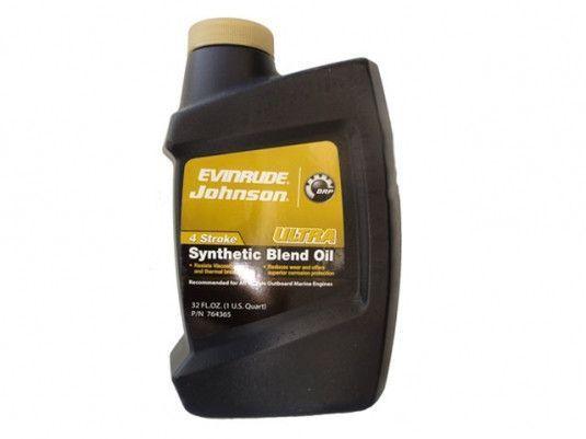 Лодочное масло  Evinrude/Johnson ULTRA 1л. 5W40  4 тактное
