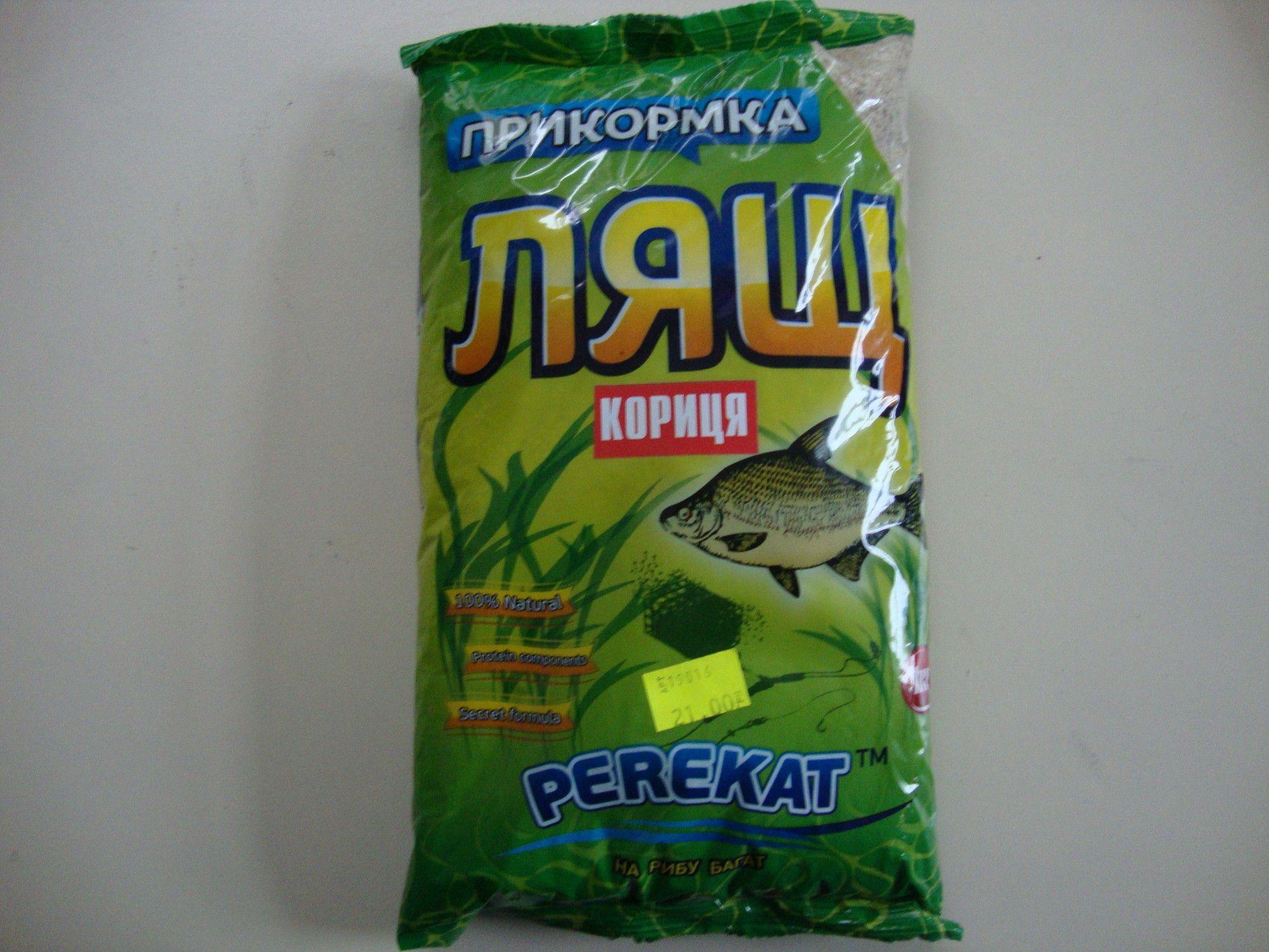 """Прикормка """"PEREKAT"""" Лещ Шеколад"""