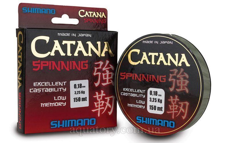 Леска Shimano Catana spinning 0.405мм
