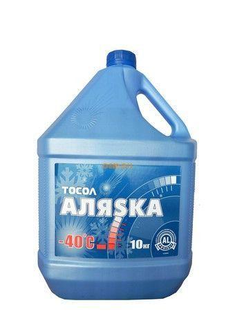 Тосол Аляска -40 10 литров.