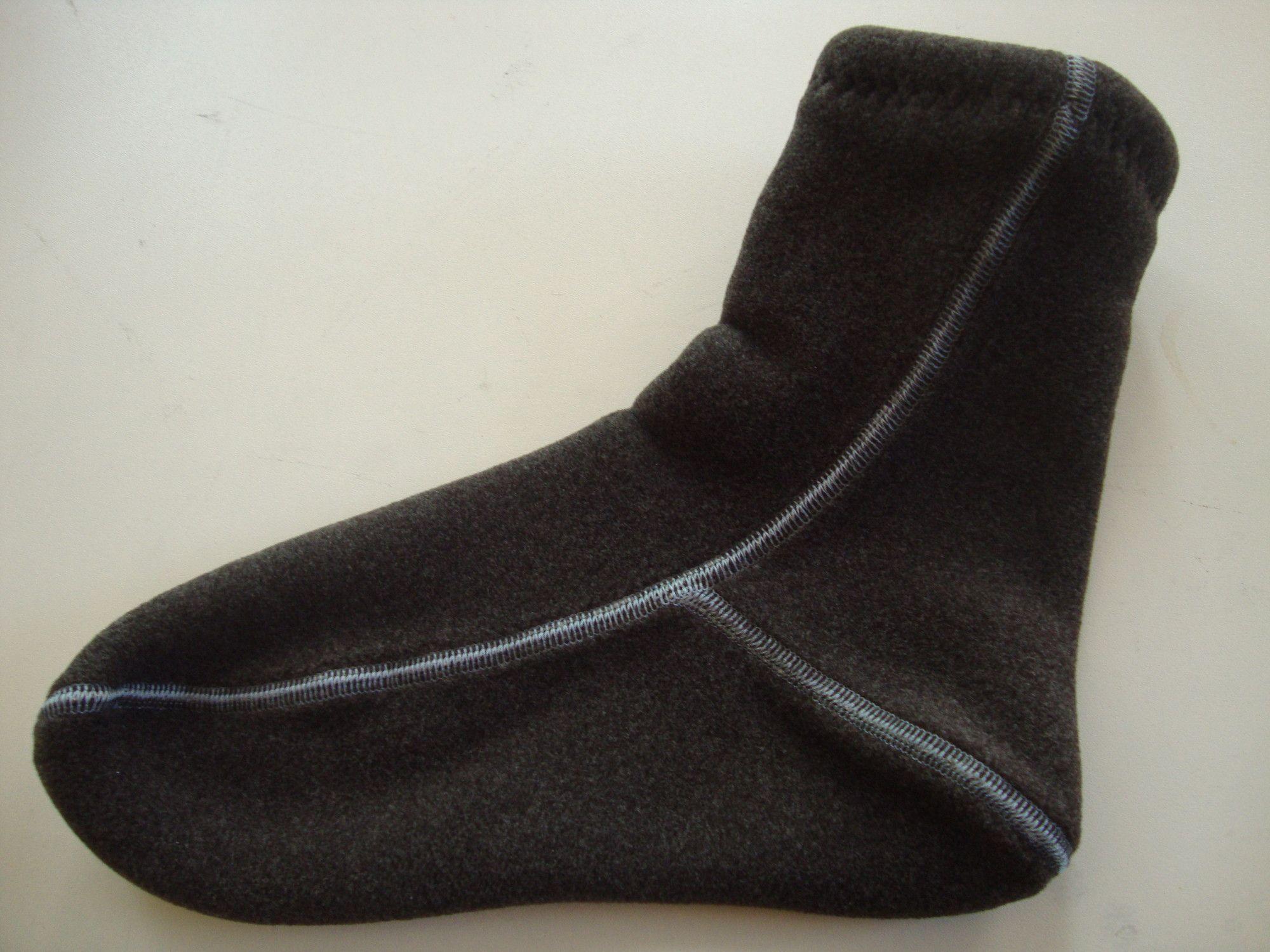 "Носки ORDANA Полар ""Lam"" цвет коричневый"