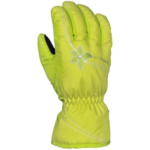 Горнолыжные детские перчатки Reusch Marie R-TEXXT Junior bright green