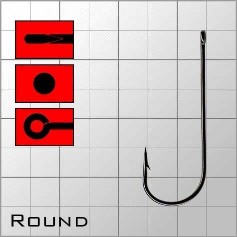 Крючки metsui ROUND размер №12