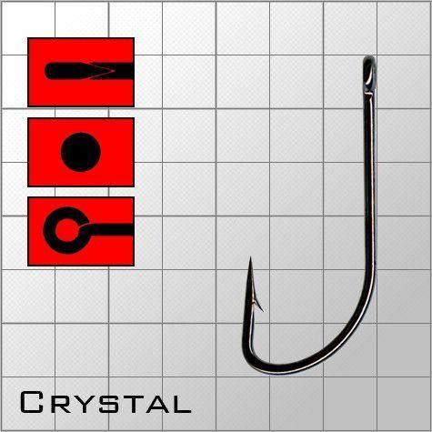 Крючки metsui Crystal размер № 14
