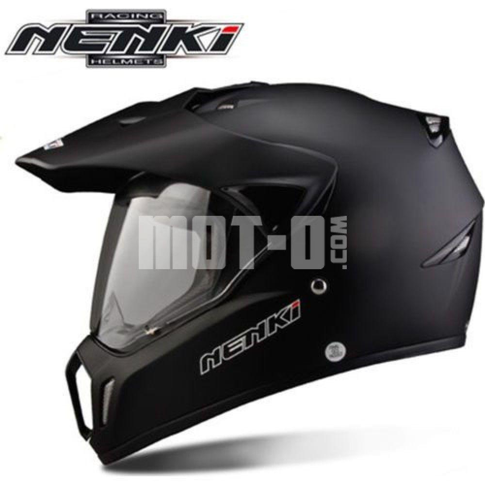 Мотошлем Nenki MX-310 Matte Black р.XL